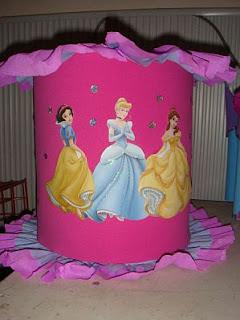 Piñatas Princesas Disney para Fiestas Infantiles