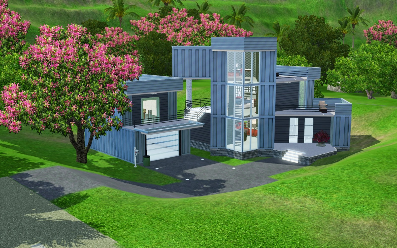 Summers Little Sims 3 Garden Isla Paradiso The Sims 3 Island