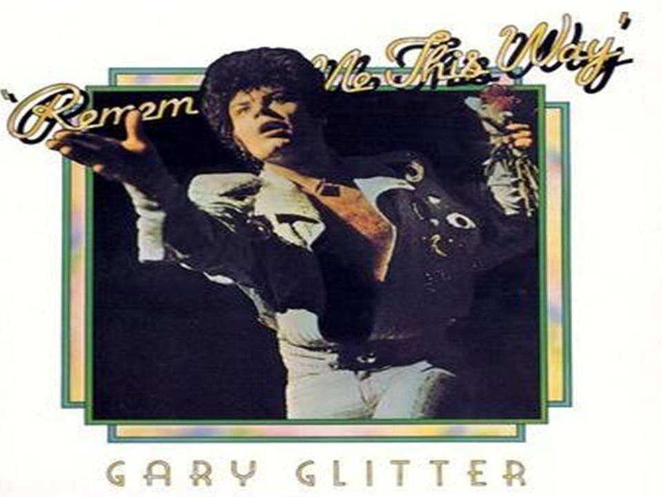 Gary Glitter Álbum Recopilatorio Remember me this way