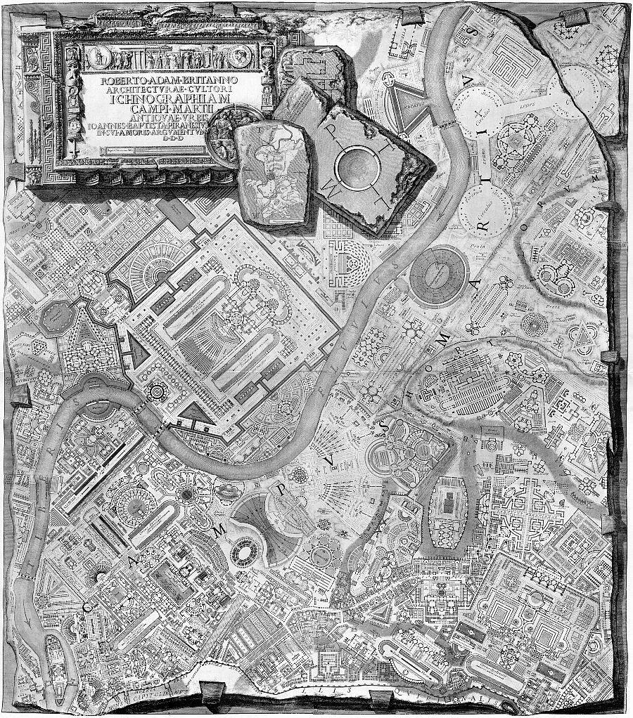 piranesi campus martius 1762
