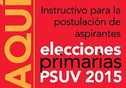 Primarias PSUV 2015