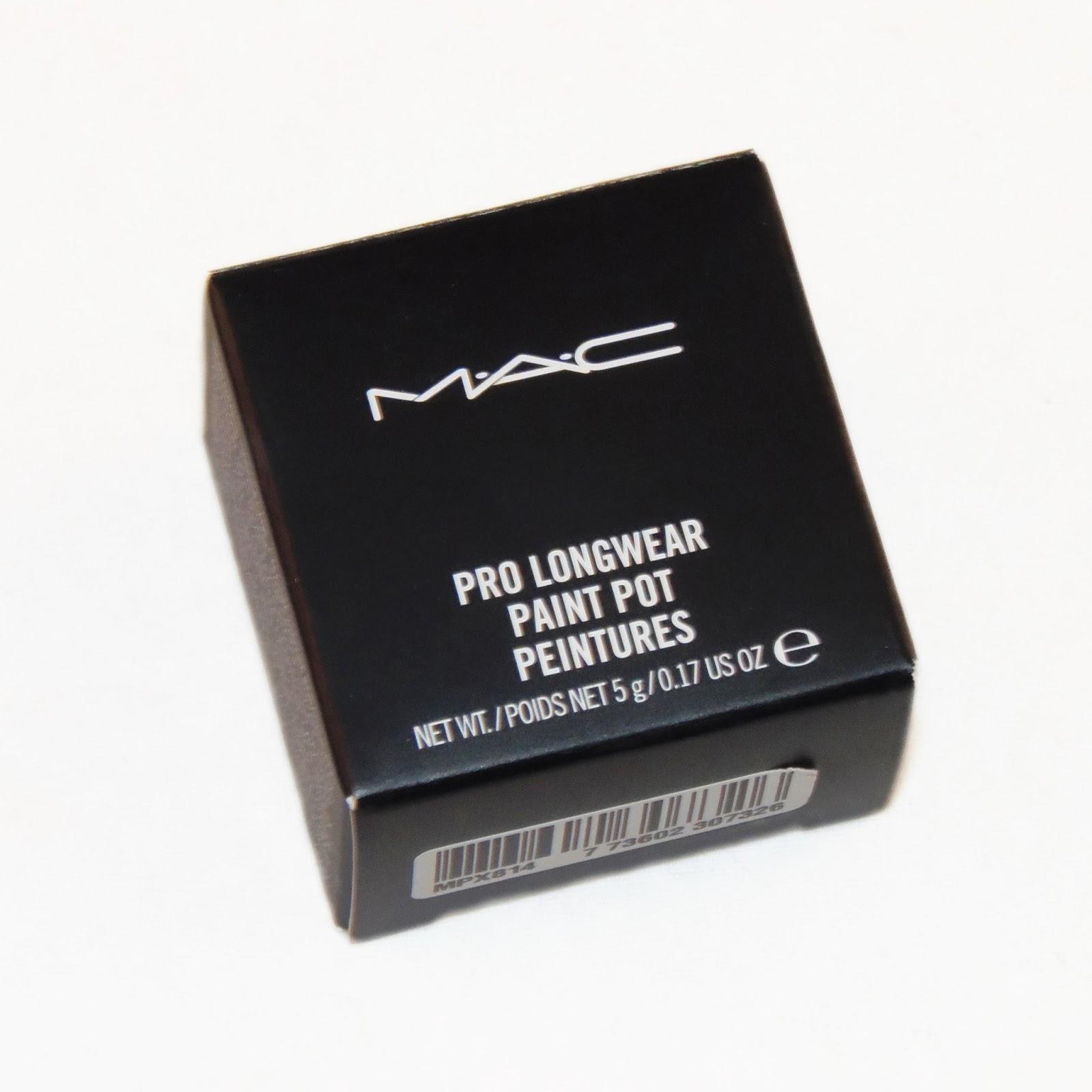 Mac pro longwear paint pot in painterly review rebecca for Mac pro longwear paint pot painterly