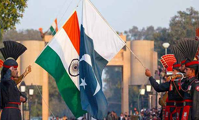 India and Pakistan on the Kashmir issue