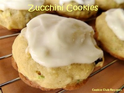Zucchini Cookies Recipe by CookieClubRecipes