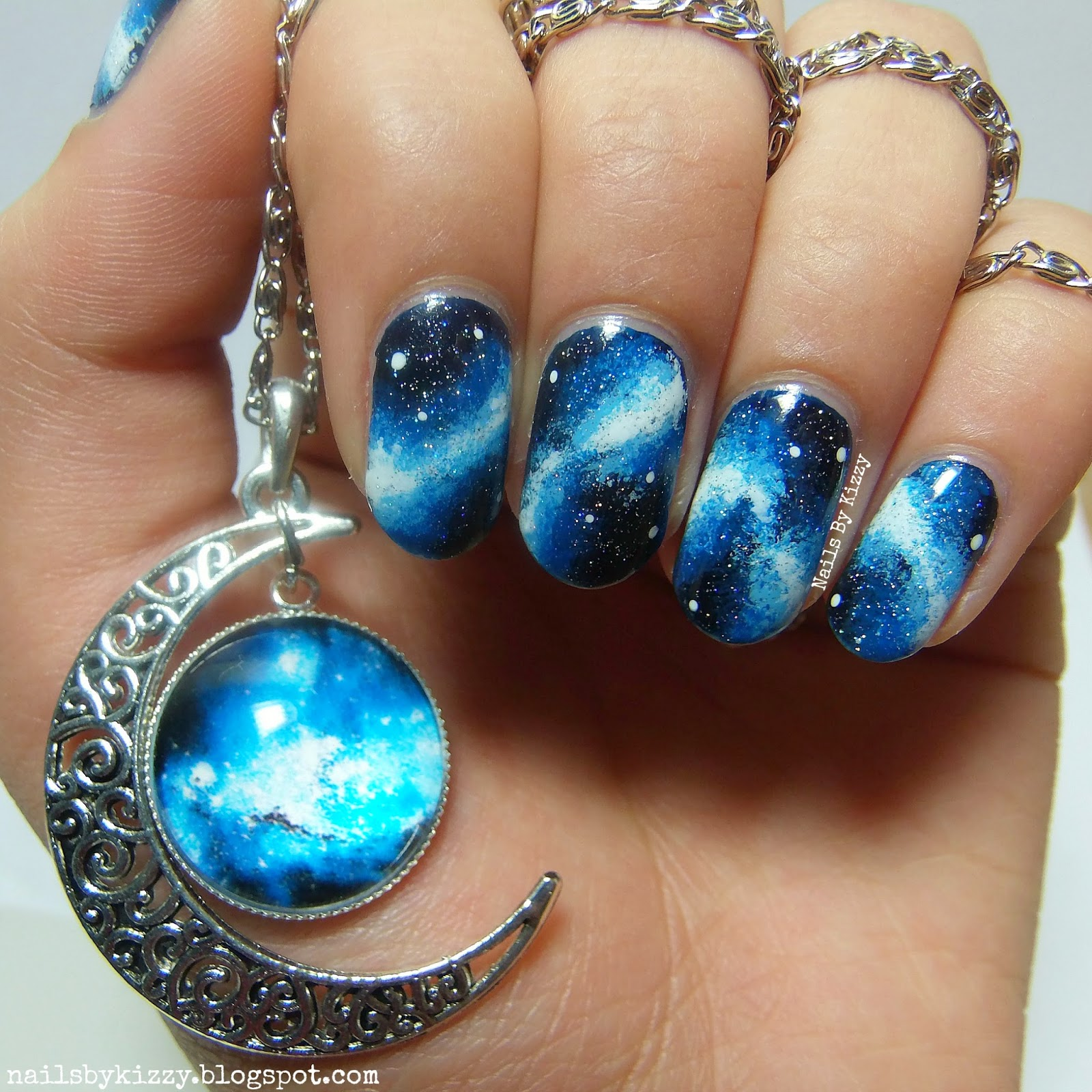 Nails By Kizzy: 1 Year Blogiversary - Galaxy Nails!