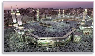 Hajj Pilgrims Crowd the Grand Mosque in Mecca