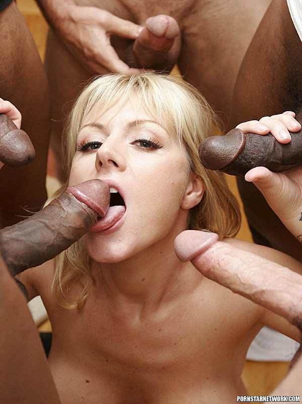 Multiple cum blowjob