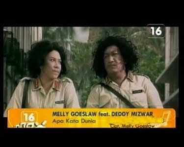 Melly Goeslow feat. Deddy Mizwar - Apa Kata Dunia MP3