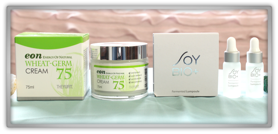 겟잇뷰티박스 by 미미박스 memebox beautybox Global #13 unboxing review preview box yufit eon wheat germ cream soy bio plus fermented lumpoule