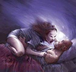 Keindihan, Sleep Paralysis, Ketindisan, lumpuh saat tidur, setan