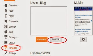 Ways To Customize Sidebar Header In Blogger 1