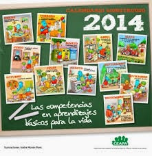 CALENDARIO DE LAS COMPETENCIAS BÁSICAS