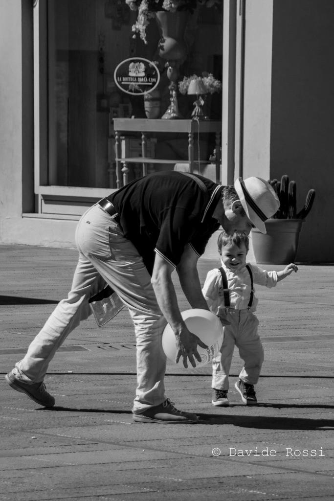 Padre e figlio - Immagini e parole