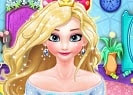 Elsa Dye Hair Design es un juego para jugar en línea gratis para niñas. Ayuda a Elsa, la reina de Frozen, a conseguir un nuevo, colorido y único estilo para su cabello en el salón de belleza del reino de Arendelle. Trabaja como su peluquero personal y utiliza todos los recursos para crear un nuevo diseño con diferentes combinaciones de colores, completa con algunos accesorios de moda.