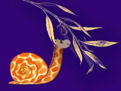 Giraffe Snail - Ingrid Sylvestre
