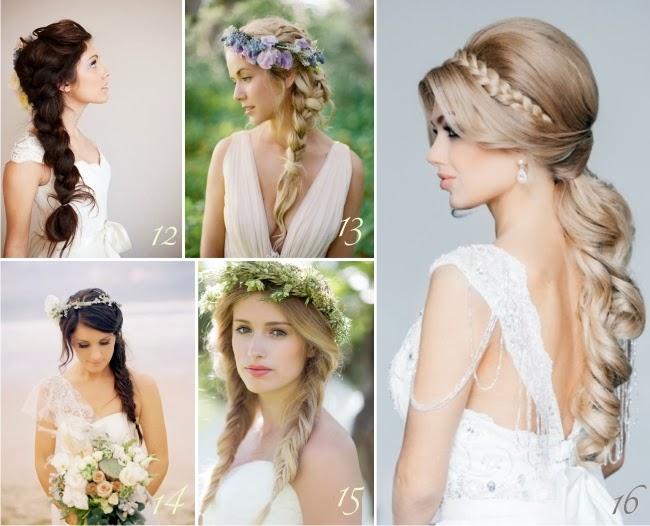 Penteados, tranças, noivas