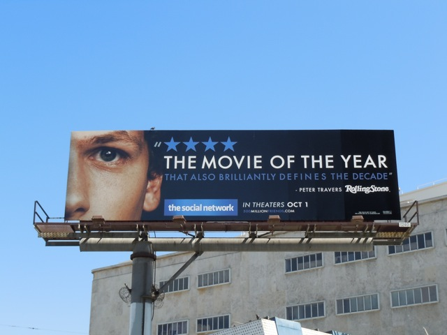 Social Network review billboard