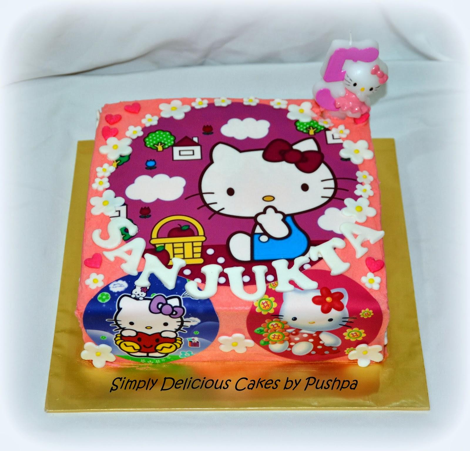SIMPLY DELICIOUS CAKES: Hello Kitty Cake