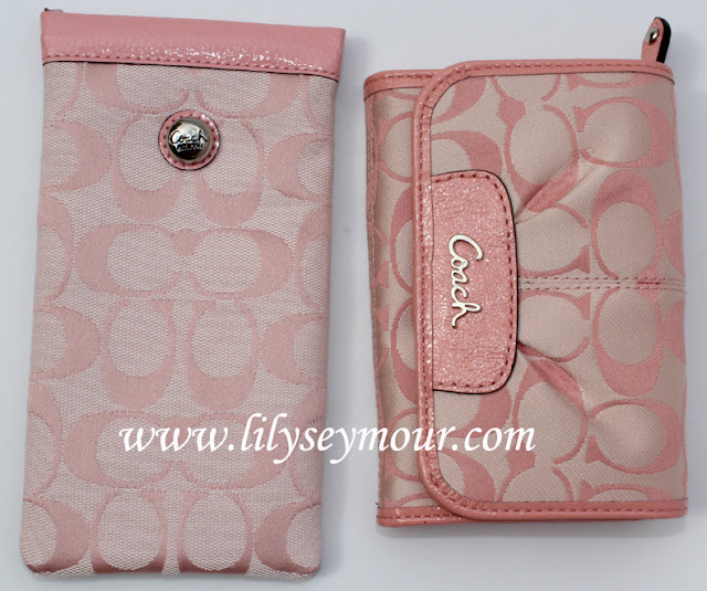 Coach Signature Pink Wallet