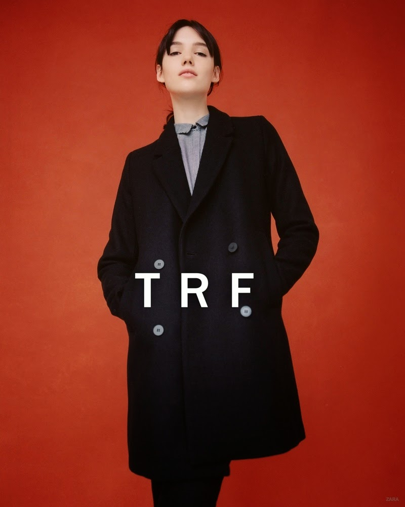 Zara TRF Fall/Winter 2014 Lookbook