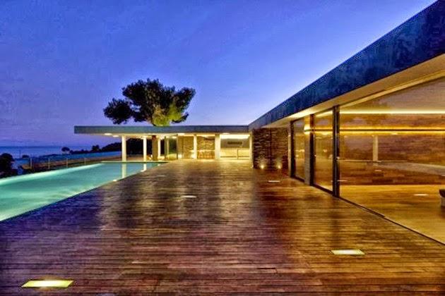 Plane House arquitectura en Grecia 3