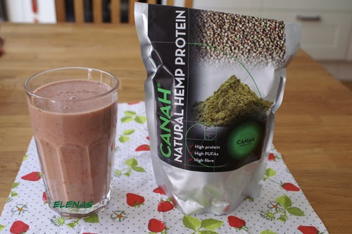 smoothie med hampaprotein