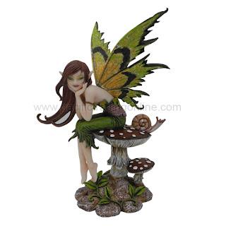 enchanted fairies mermaids figurines