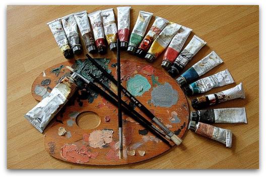 Como pintar un cuadro al leo - Como pintar un cuadro moderno ...