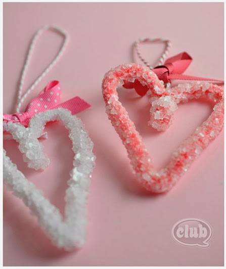 valentines heart crystals