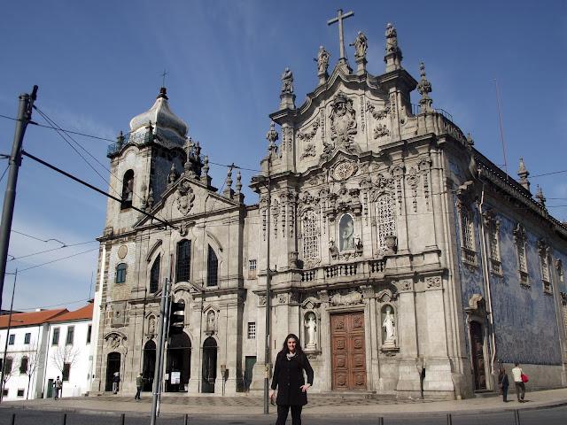 Iglesia Dos Extintos Carmelitas, Oporto. Azulejos