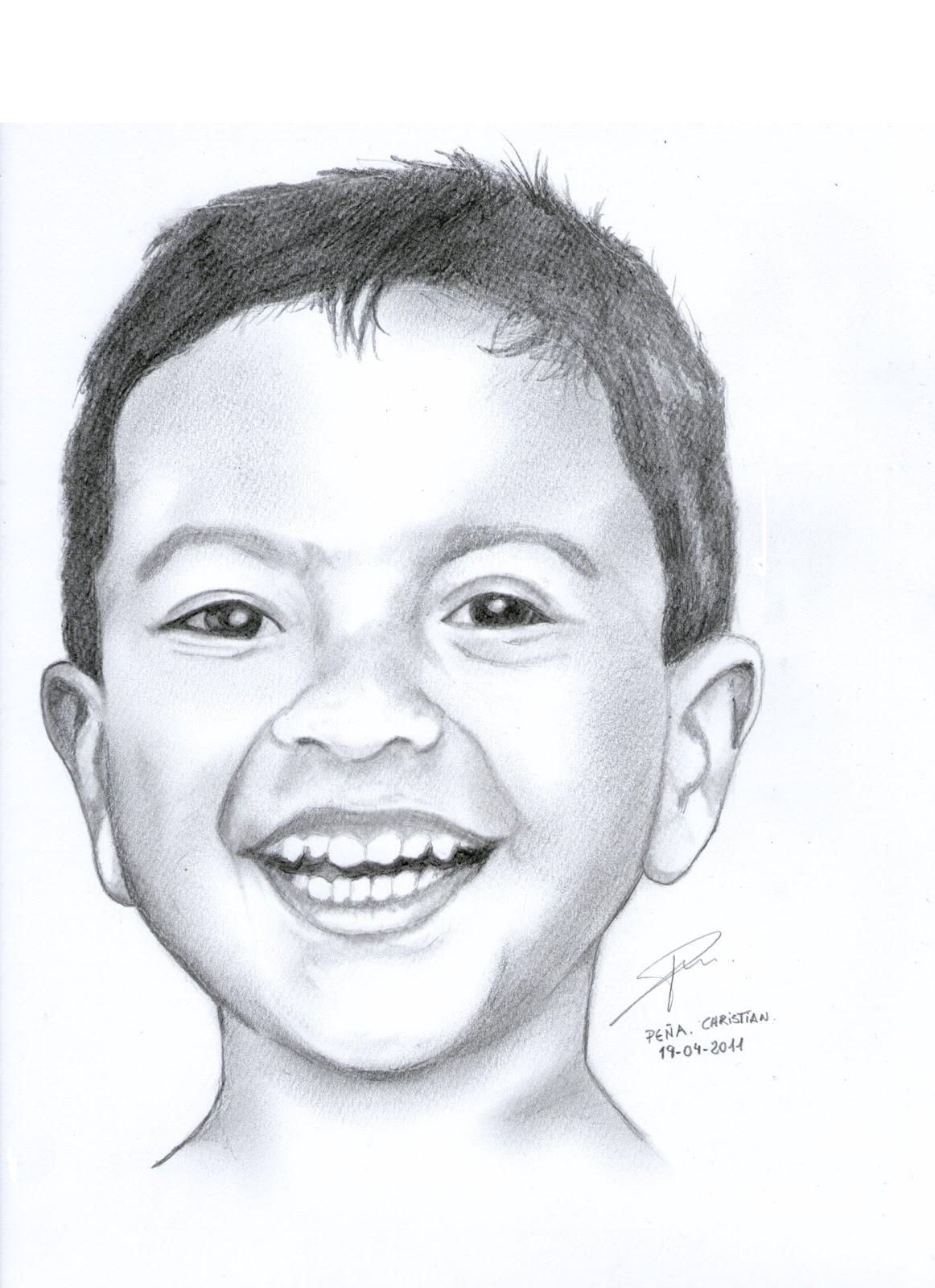Dibujos de bebé a lapiz - Imagui