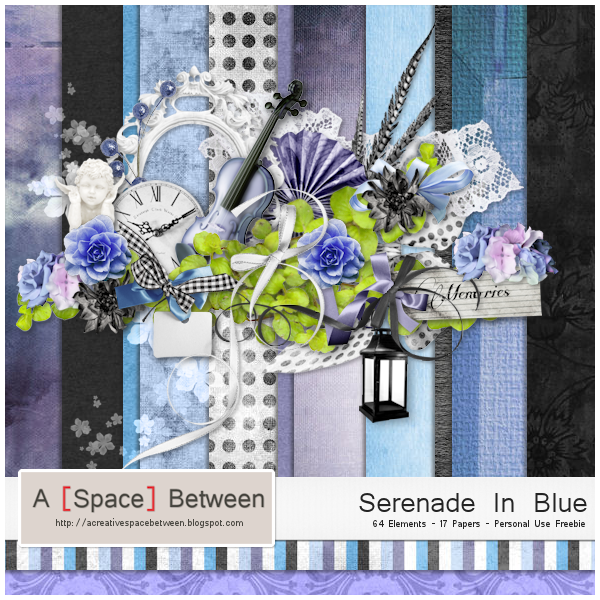 Scrapkit: Serenade In Blue