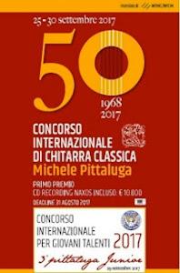 """Concorso Internazionale di Chitarra Classica """"Michele Pittaluga"""" e Premio """"Città di Alessandria"""""""
