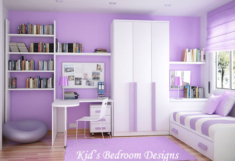 Bedroom Ideas on Charming Kid   S Bedroom Designs