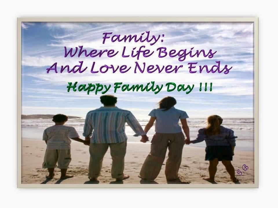 Happy Family Day, part 1
