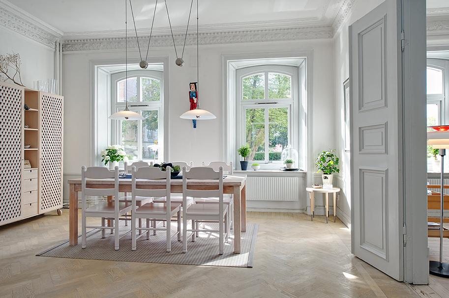Un faro de ideas departamento en suecia - Cocinas con estuco ...