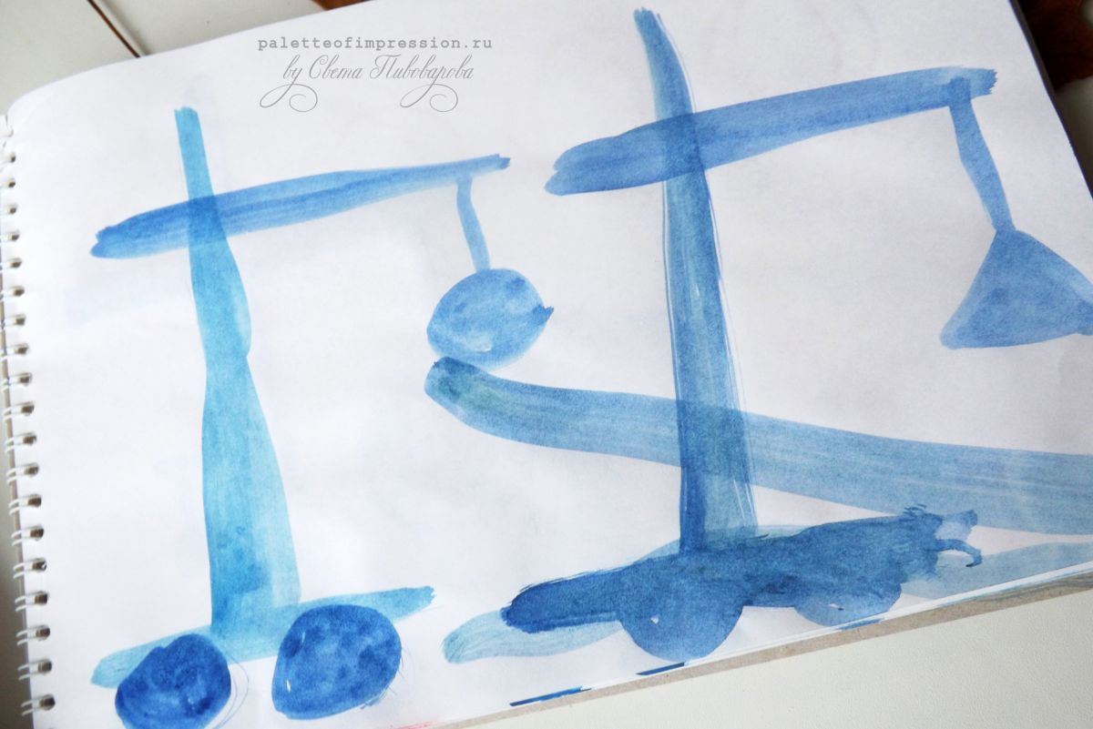 Блог Вся палитра впечатлений. Детское творчество с мамой осенью