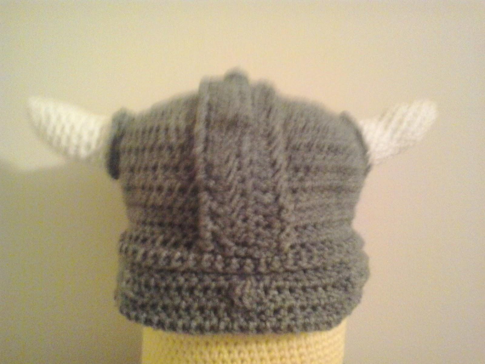 Crochet Fanatic: VIKING HAT