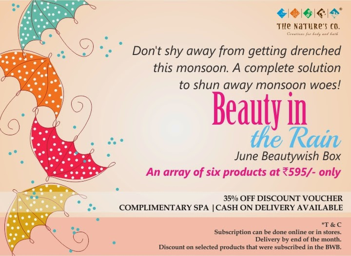 The Nature's Co : June Speical Beauty Wish Box image