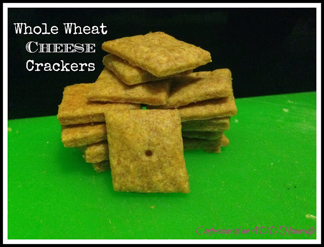 Confessions of an ADD English Teacher: Whole Wheat Cheese Crackers