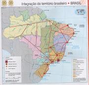 Mapa Brasilintegração do território (mapa brasil integraã§ã£o do territã³rio)