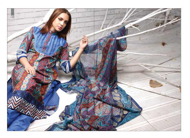 PrintedEmbroideredLawnwwwShe9blogspotcom252852529 - Rabea Designer Lawn Collection | Embroidered Lawn Collection of 2