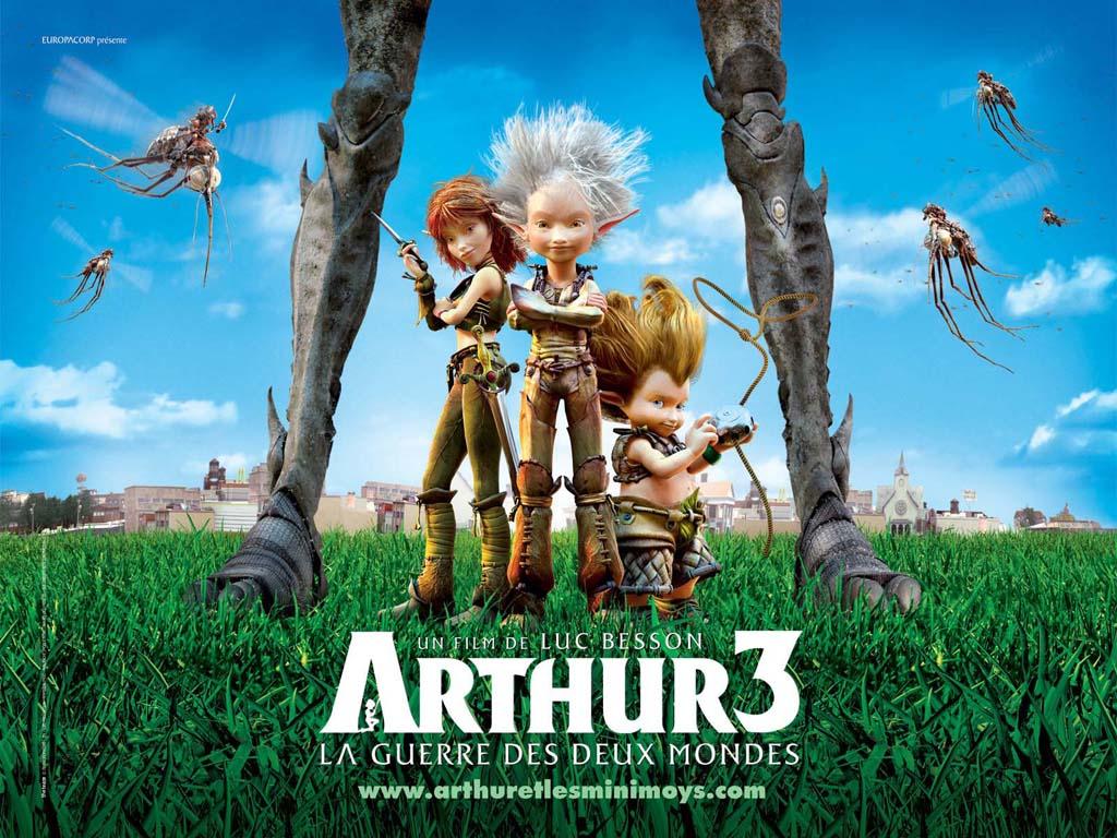 Arthur 3: �ki D�nyan�n Sava�� / 2010 / Tr Dublaj / Online Animasyon Film �zle