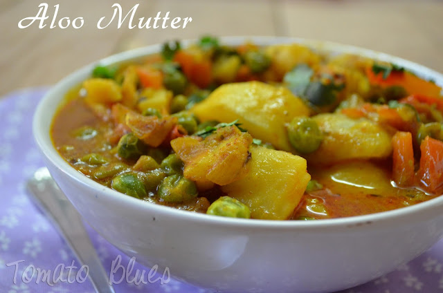 Aloo Mutter- Easy Curries