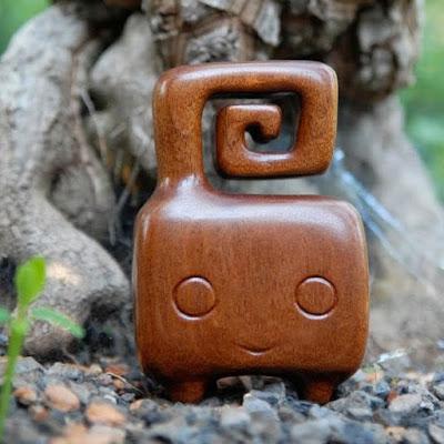 PIDA Wood Figure by Pepe Hiller