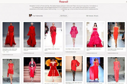 RED DESIGNS: A Tribute To World AIDS Day 2012 In Fashion.