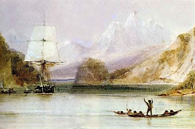 Conrad Martens Beagle Tierra del Fuego