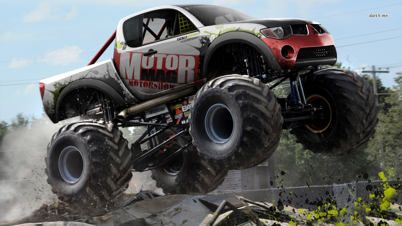 Mitsubishi L200 Monster Truck Offroad Monsters