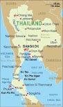 Thailand's Map