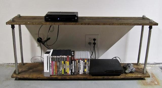 Reposhture Studio More Industrial Look Shelves